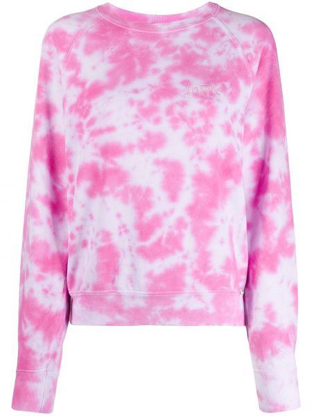 Różowa bluza z długimi rękawami bawełniana Forte Dei Marmi Couture