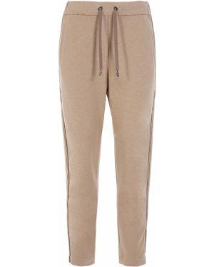 Укороченные брюки с лампасами с поясом Brunello Cucinelli