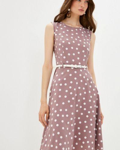 Розовое прямое платье Shovsvaro