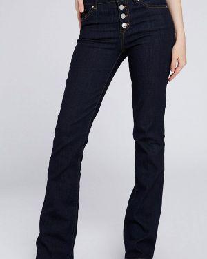Широкие джинсы расклешенные синие Morgan