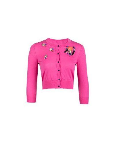 Кардиган - розовый Class Cavalli