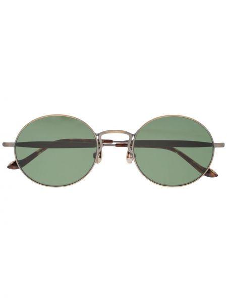 Zielone złote okulary Matsuda
