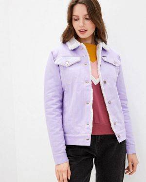 Джинсовая куртка - фиолетовая Dasti
