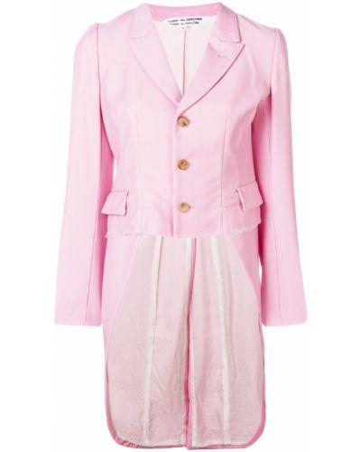 Розовая длинная куртка Comme Des Garçons Comme Des Garçons