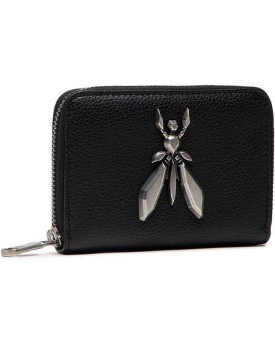 Czarny portfel Patrizia Pepe