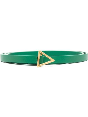 Кожаный ремень - зеленый Bottega Veneta