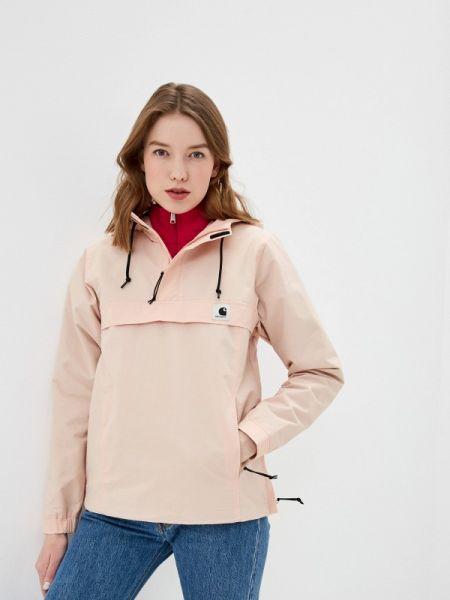 Розовая куртка Carhartt