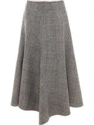 Czarna spódnica rozkloszowana z wysokim stanem Jw Anderson