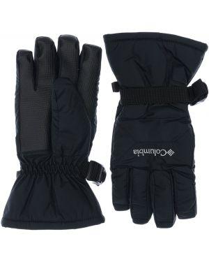 Czarne rękawiczki z nylonu Columbia