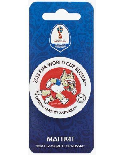 Белая ключница металлическая 2018 Fifa World Cup Russia™