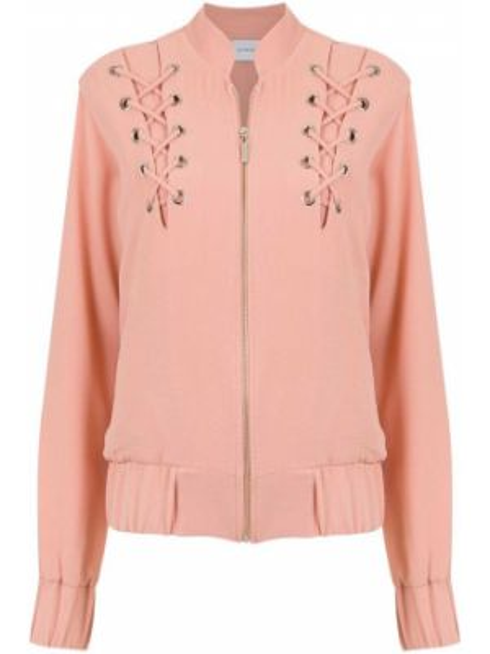 Розовая куртка с манжетами Olympiah