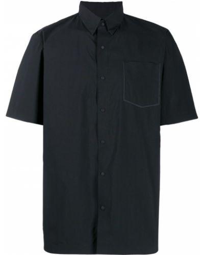 Черная рубашка с короткими рукавами на кнопках Mammut Delta X