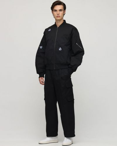 Prążkowana czarna kurtka P.a.m. Perks And Mini