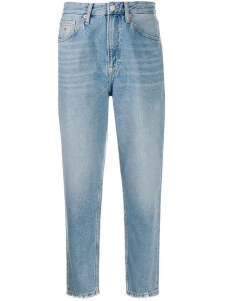 Укороченные джинсы mom на пуговицах Tommy Jeans
