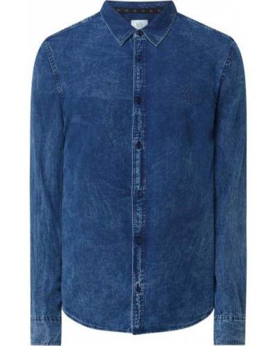Koszula z długimi rękawami - niebieska Q/s Designed By