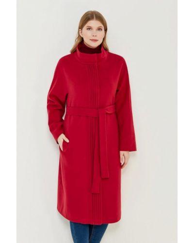 Красное пальто осеннее синар