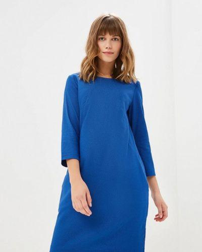 Платье осеннее синее Glam Goddess