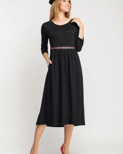 Повседневное черное платье Giulia Rossi