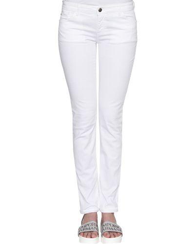 Белые джинсы Emporio Armani