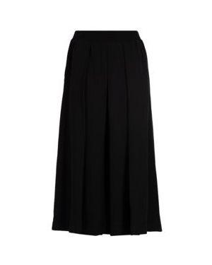 Ażurowa czarna spódnica maxi z wiskozy Dkny