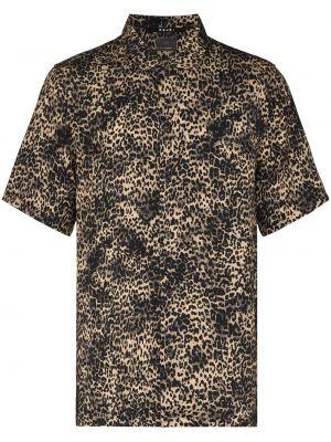 Brązowa koszula krótki rękaw Ksubi
