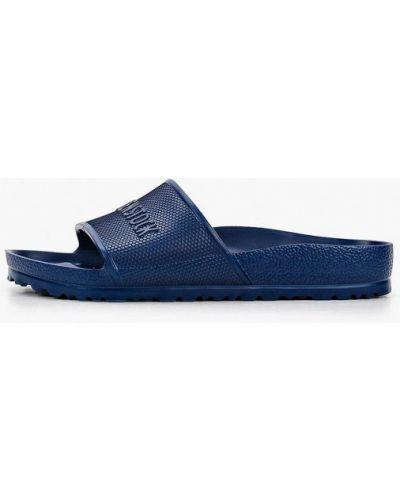 Синие пляжные сланцы Birkenstock