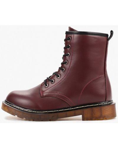Кожаные туфли бордовый Ideal Shoes®