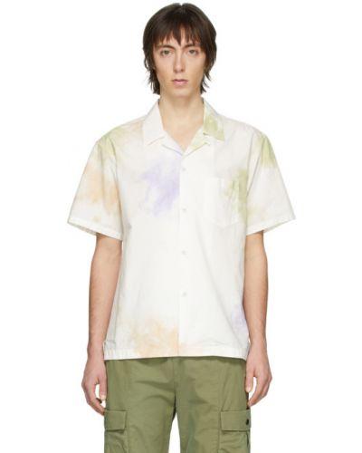 Bawełna bawełna z rękawami koszula z kieszeniami John Elliott