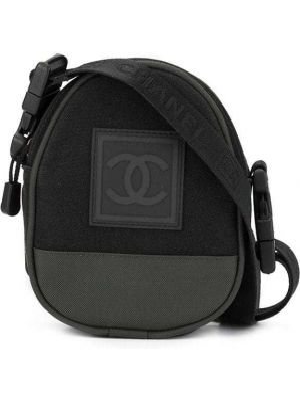 Mini torebka z płótna sport Chanel Pre-owned