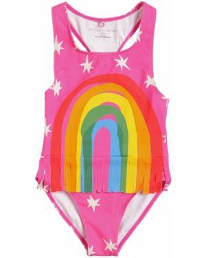 Strój kąpielowy z nadrukiem na szyi Stella Mccartney Kids