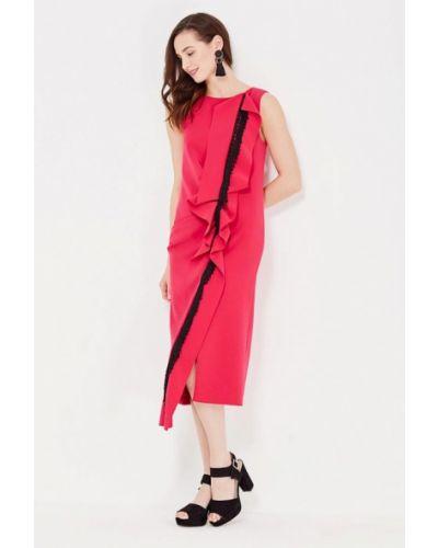 Платье розовое осеннее Lolita Shonidi