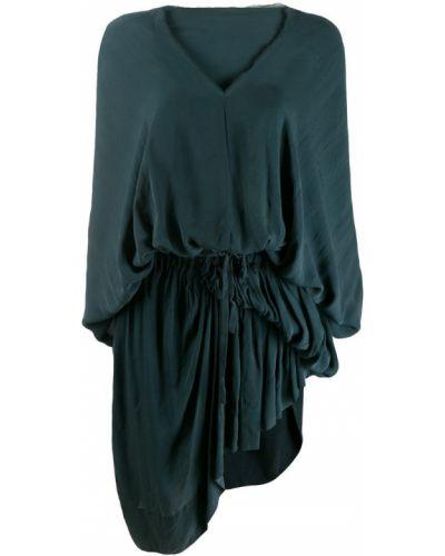 Платье с бахромой винтажное на молнии Vivienne Westwood Pre-owned
