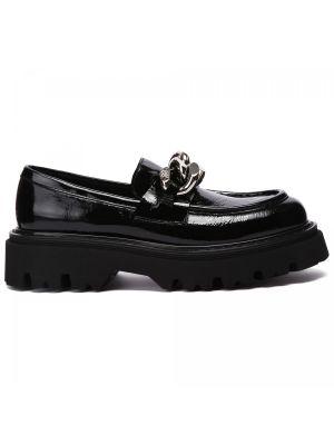 Черные резиновые туфли Casadei