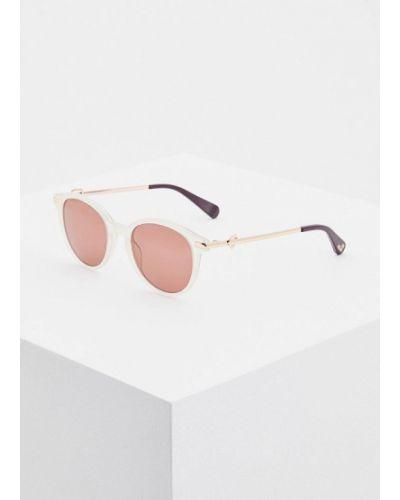 Солнцезащитные очки круглые Love Moschino