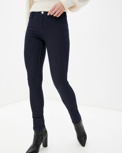 Синие джинсы-скинни узкого кроя Met