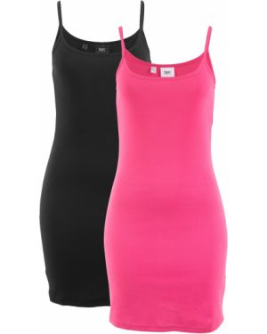 Вечернее платье розовое мини Bonprix