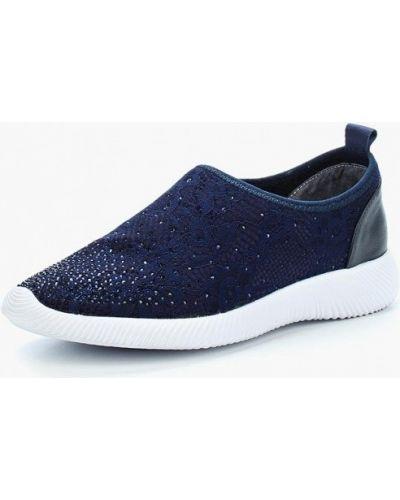 Текстильные синие кроссовки Chezoliny