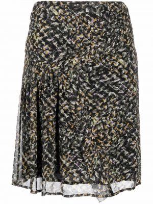 Черная асимметричная юбка Lala Berlin
