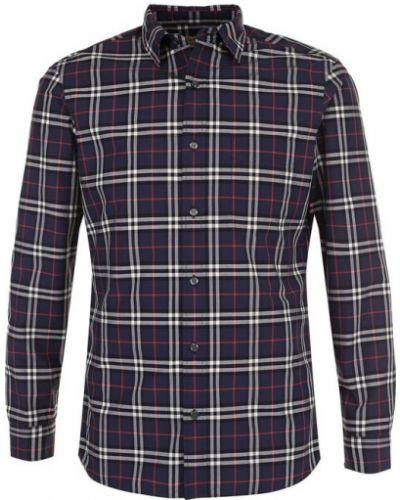 Рубашка в клетку хлопковая Burberry
