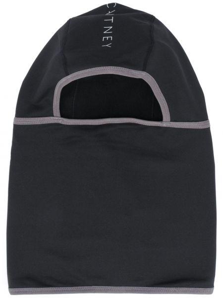 Bawełna czarny kominiarka Adidas By Stella Mccartney