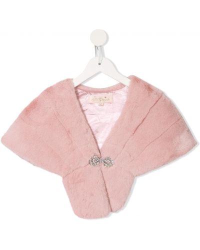 Хлопковая розовая шаль с подкладкой Tutu Du Monde