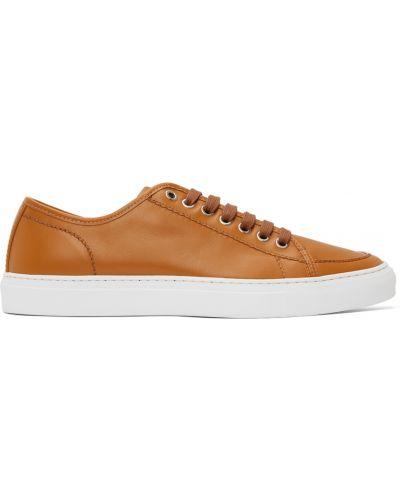 Klasyczne buty sportowe - białe Brioni