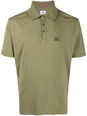 Koszula krótkie z krótkim rękawem z logo z kołnierzem C.p. Company
