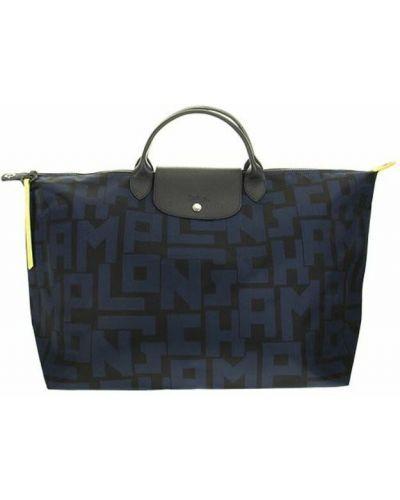 Czarna torba podróżna Longchamp