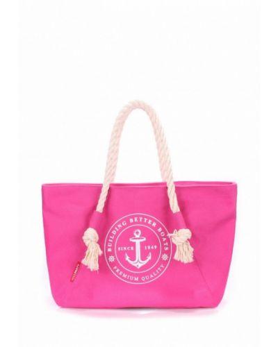 Розовая пляжная сумка Poolparty