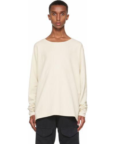 Biała bluza z długimi rękawami Greg Lauren