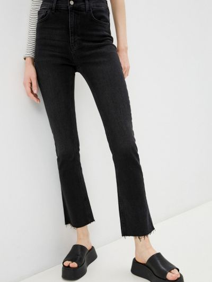 Черные широкие джинсы свободного кроя Adl