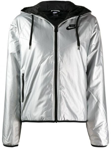 Куртка с капюшоном спортивная на молнии Nike