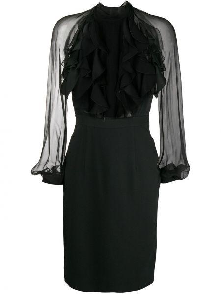 Джинсовое платье макси с завышенной талией Dsquared2