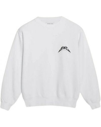 Biała bluza dresowa Anine Bing